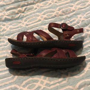Keen Shoes - 🌴 Keen Red Crisscross Sandals 🌴